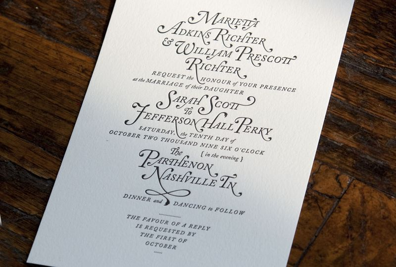 the illustrative - Amazing Wedding Invitations
