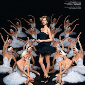 Black Swan Inspired Editorial for Vogue Russia