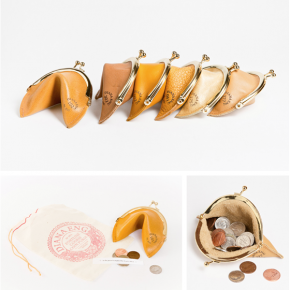 Fortune Cookie Coin Purses
