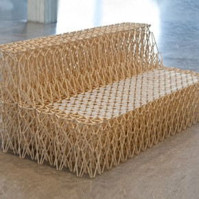 8,000 Chopsticks in One Collapsible Couch