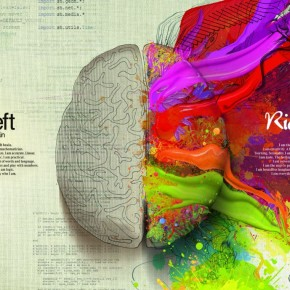 Left Brain/Right Brain: Gorgeously Illustrated Mercedes Benz Ads