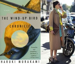 Murakami Covers Paired With Sartorialist Pictures