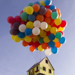 Incredible Real Life House from Pixar's UP
