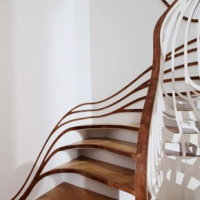 Sinuous Sculptural Staircase by Atmos Studios