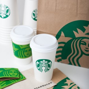 New Starbucks Logo & Products Roll Out Today
