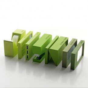 Stackable Block Stationery in Colorful Shades