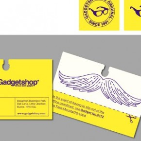 Moustache Business Card