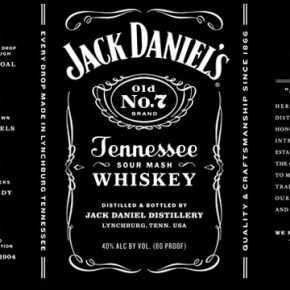 Jack Daniel's Label Redesign