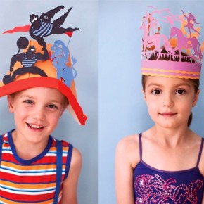 Whimsical Paper Party Hats
