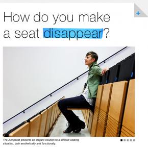 Jumpseat: The Perfect Auditorium Seat
