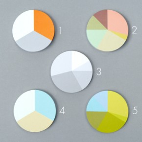 Pie Chart Post-Its