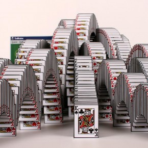Solitare Win As A 3D Sculpture