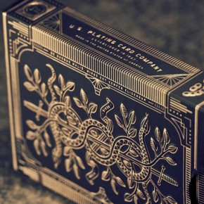 Exquisite Gilded Cards Fit for a King: Monarch Playing Cards