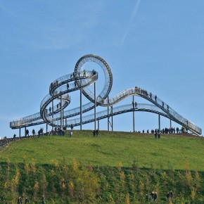 Roller Coaster of Stairs: An Amazing Walking Amusement Ride