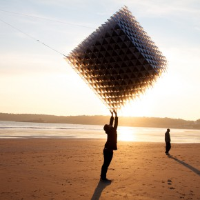 Astonishing Geometric Kite: A Gorgeous Flying Sculpture