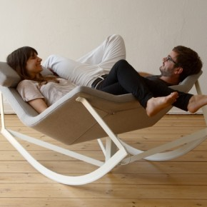 Sway: A Rocking Chair Perfect For Two