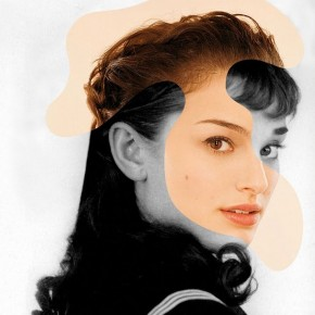 Iconatomy: Seamlessly Merged Photos of Past and Present Movie Stars