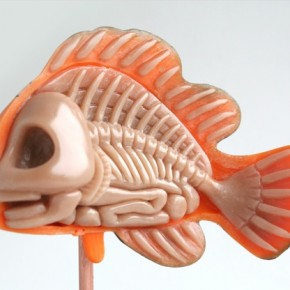 Anatomical Sculptures: Imagining the Insides of Pop Culture Toys