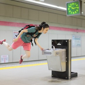 Levitating Girl: Photos of Everyday Life Suspended In Mid-Air
