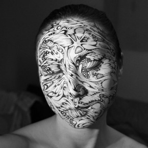 Sensual, Haunting Ink-on-Skin Portraits