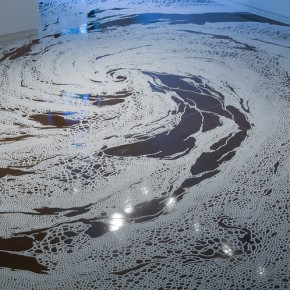 Delicate Labyrinths of Pure Salt: Amazing Installations by Motoi Yamamoto