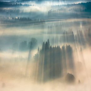 Breathtaking Photos of Morning Light Filtering Through The Mountaintops