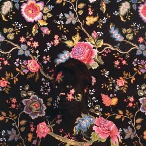 Ornate Body Painting Camouflage: Hiding The Human Form with Wallpaper Patterns