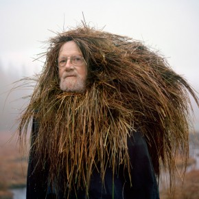 Bizarre Yet Delightfully Whimsical Photos of Old People Wearing Vegetation