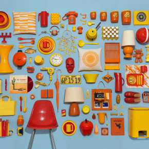 Things Organized Neatly: Carefully Knolled Objects Photographed Perfectly